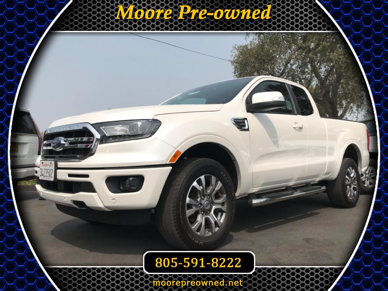 Ford Ranger LARIAT 2WD SuperCab 6' Box 2019