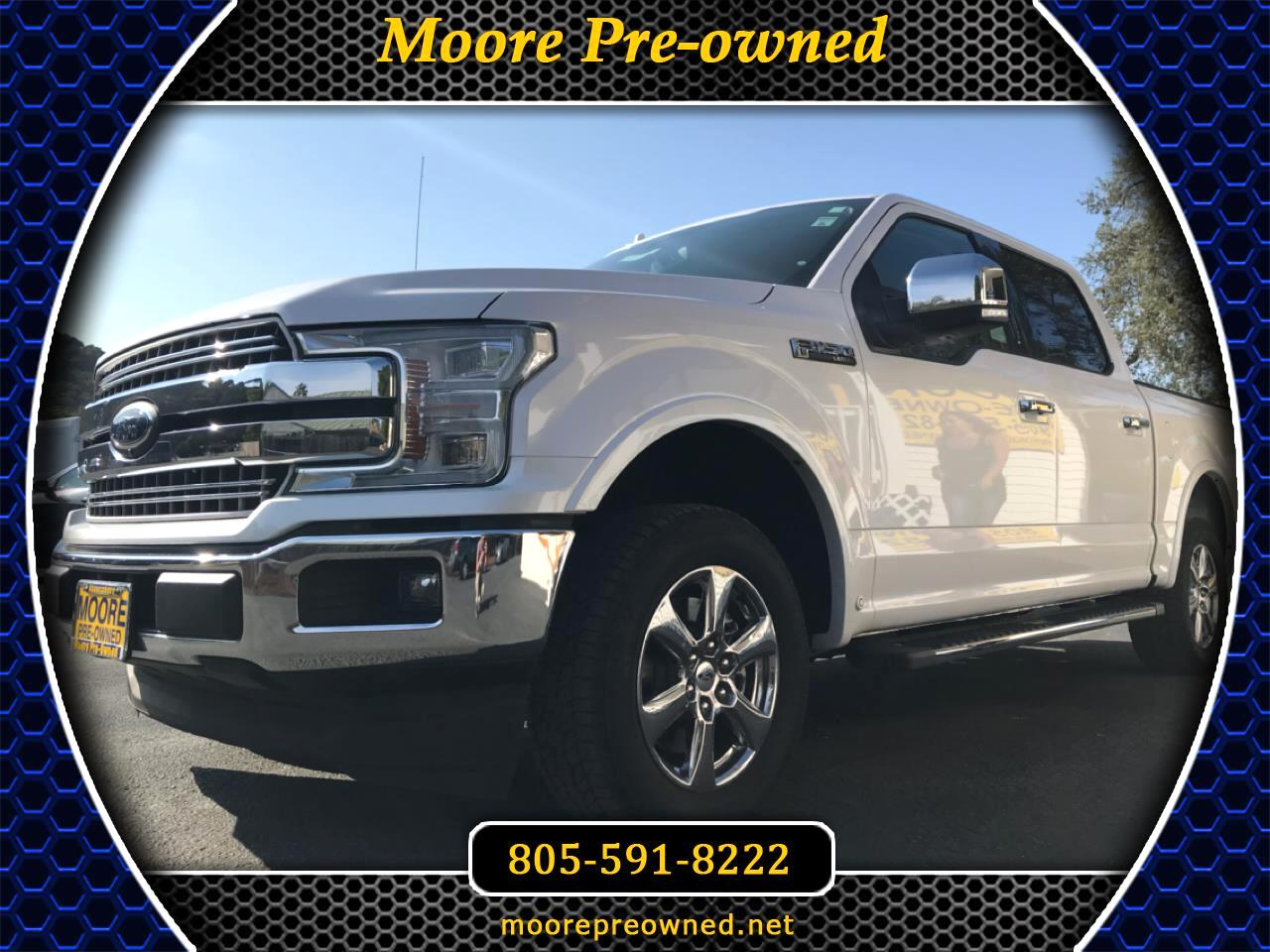 "Ford F-150 SuperCrew 139"" Lariat 2018"