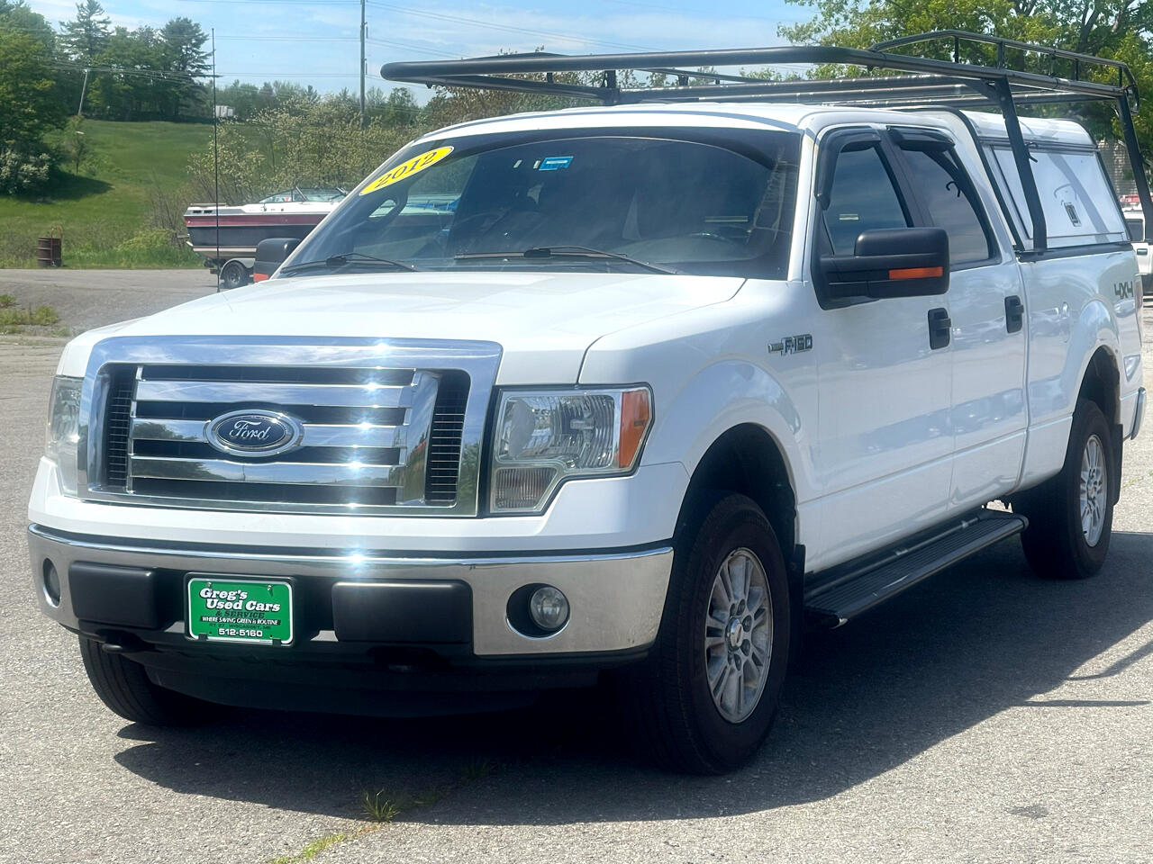 """Ford F-150 4WD SuperCrew 157"""" XL w/HD Payload Pkg 2012"""
