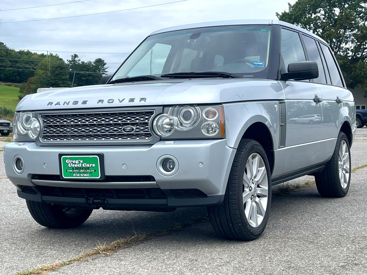 Land Rover Range Rover 4WD 4dr SC 2008