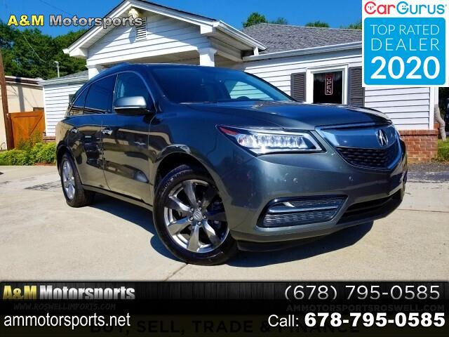 Acura MDX 6-Spd AT w/Advance and Ent. Pkg 2014