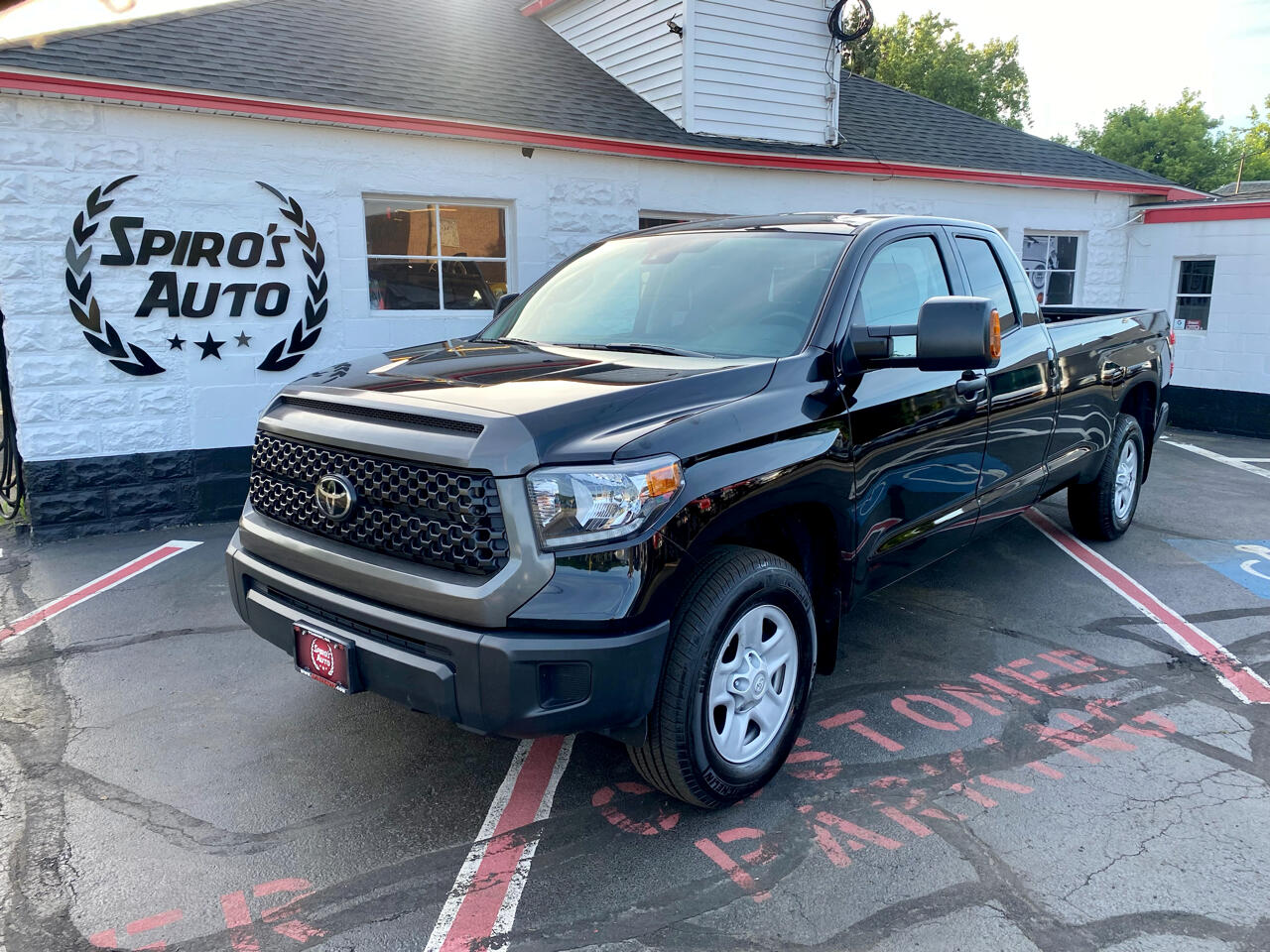 Toyota Tundra 4WD SR5 Double Cab 8.1' Bed 5.7L (Natl) 2020