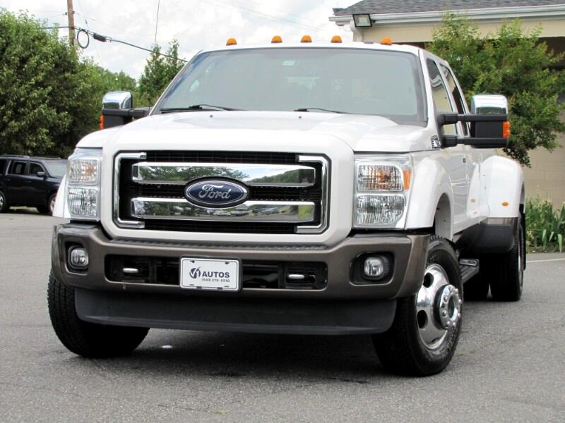 Ford F-350 SD King Ranch Crew Cab Long Bed DRW 4WD 2016