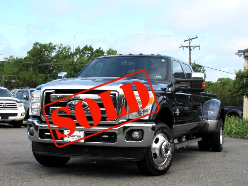 Ford F-350 SD Lariat Crew Cab Long Bed DRW 4WD 2011