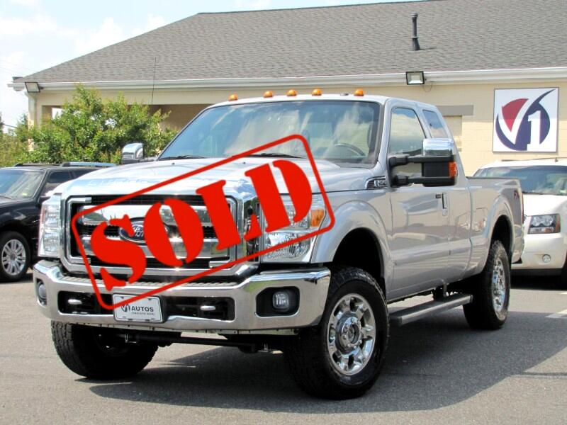 Ford F-250 SD Lariat SuperCab 4WD 2012