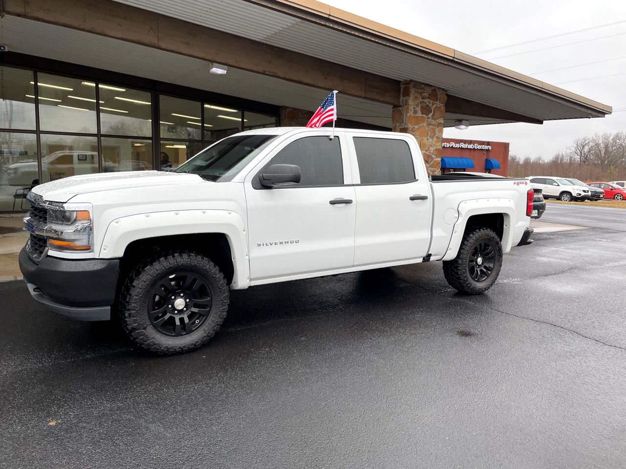 "Chevrolet Silverado 1500 4WD Crew Cab 143.5"" Work Truck 2016"
