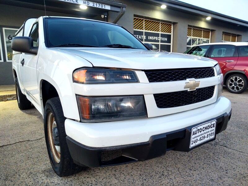 Chevrolet Colorado Work Truck 2WD 2011
