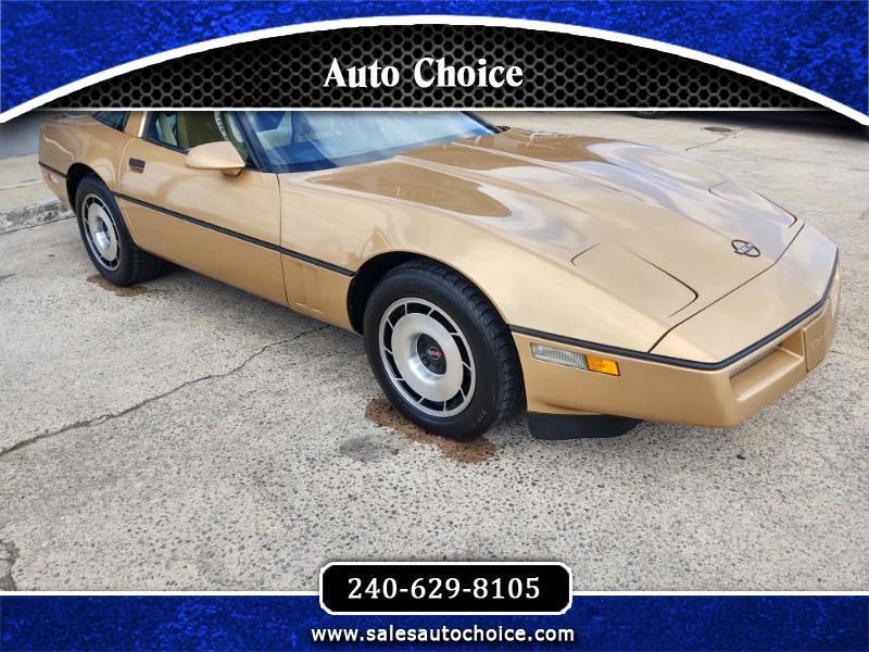Chevrolet Corvette Coupe 1985