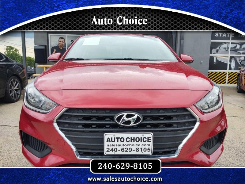 Hyundai Accent SEL 4-Door 6A 2018
