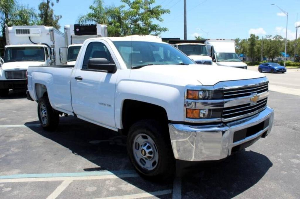 Chevrolet Silverado 2500HD Work Truck Long Box 4WD 2016