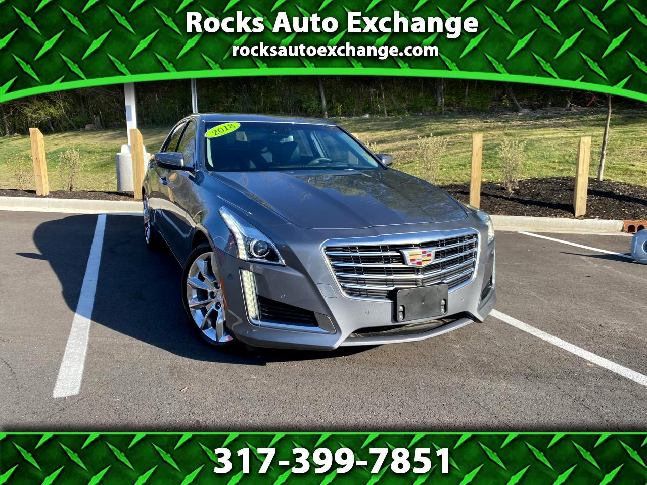 Cadillac CTS Sedan 4dr Sdn 3.6L Premium Luxury AWD 2018