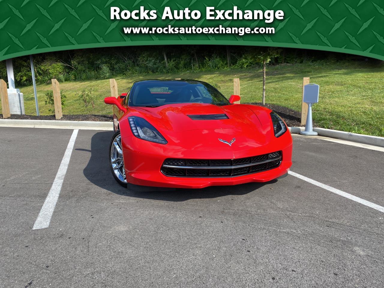 Chevrolet Corvette 2dr Stingray Cpe w/1LT 2019