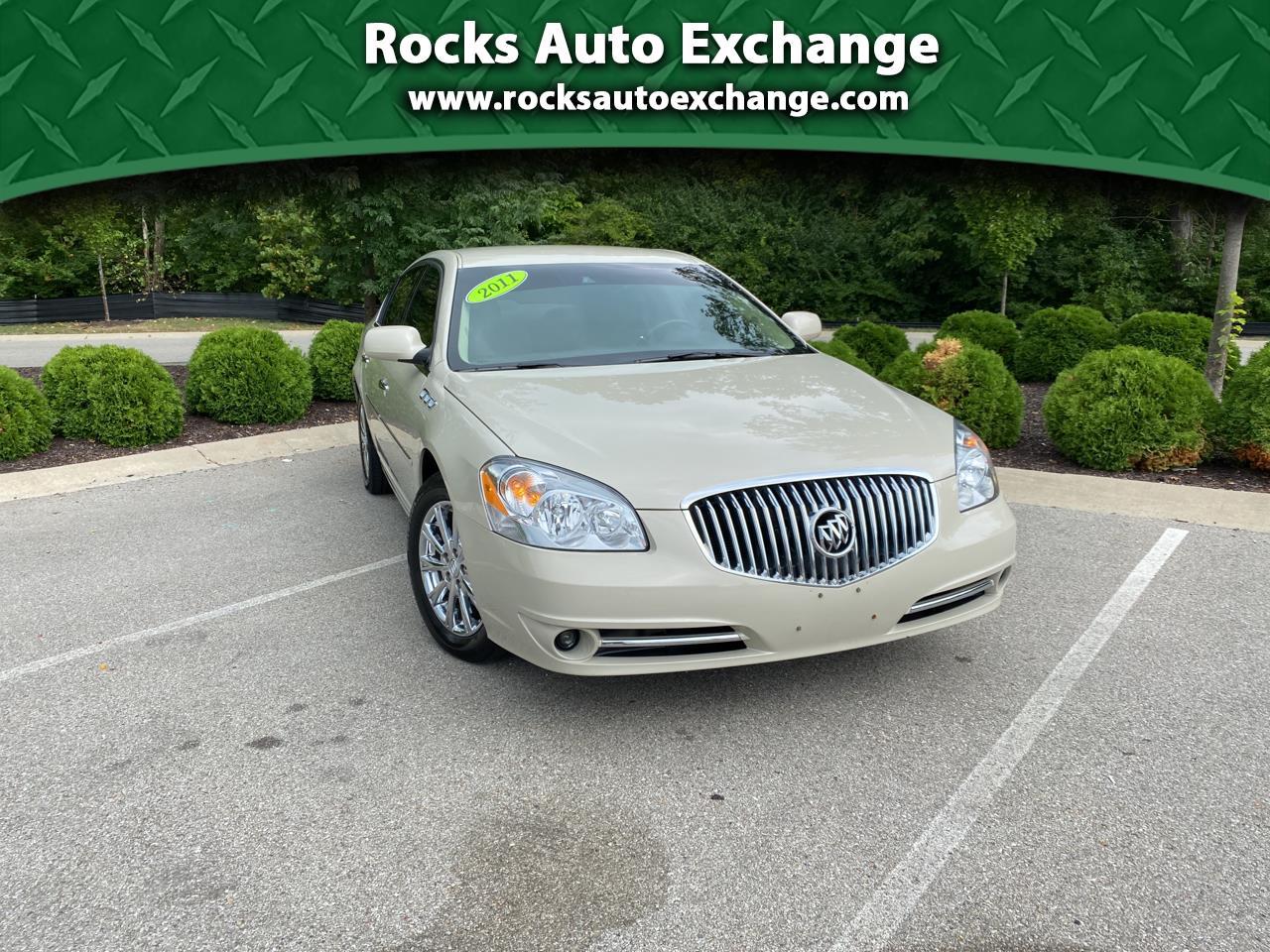 Buick Lucerne 4dr Sdn CXL Premium 2011