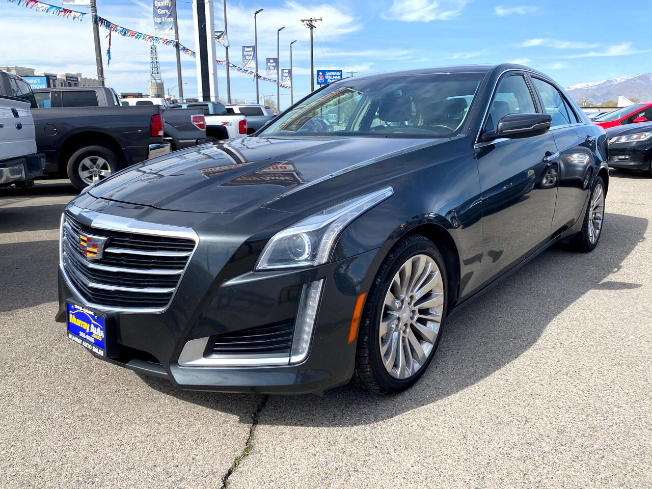 Cadillac CTS Sedan 4dr Sdn 2.0L Turbo Luxury AWD 2015