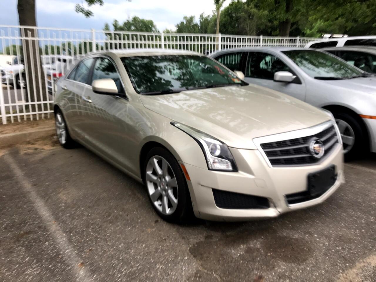 Cadillac ATS 4dr Sdn 2.0L RWD 2013
