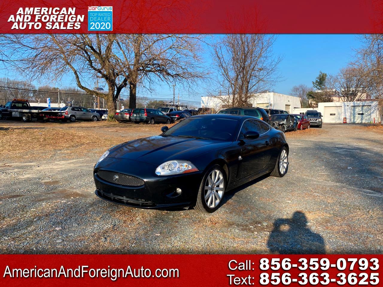 Jaguar XK Series 2dr Cpe 2009
