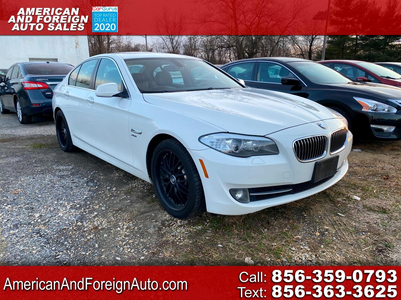 BMW 5 Series 4dr Sdn 528i xDrive AWD 2012
