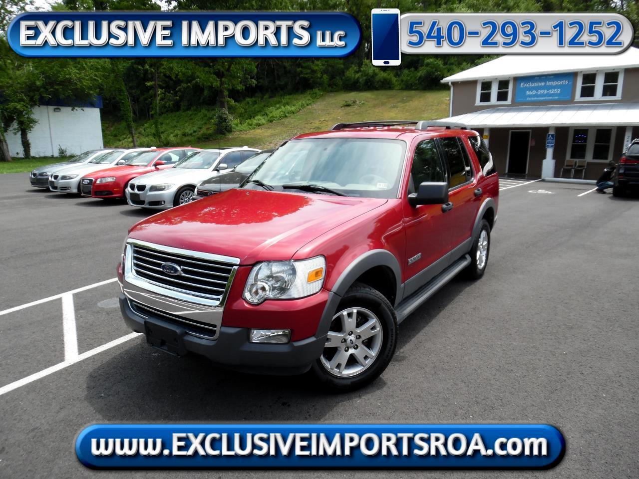 """Ford Explorer 4dr 114"""" WB 4.0L XLT 4WD 2006"""