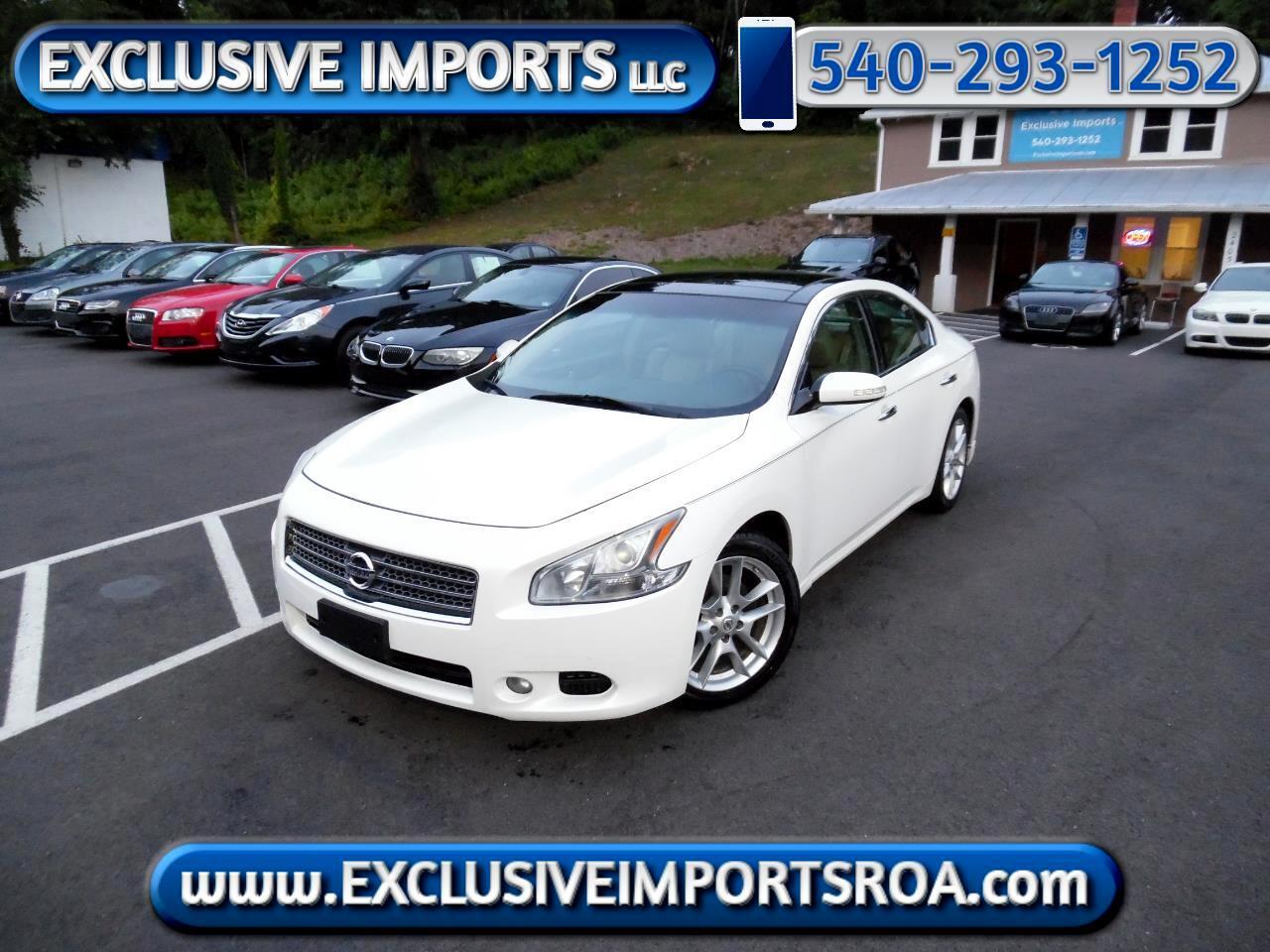 Nissan Maxima 4dr Sdn V6 CVT 3.5 SV w/Premium Pkg 2011