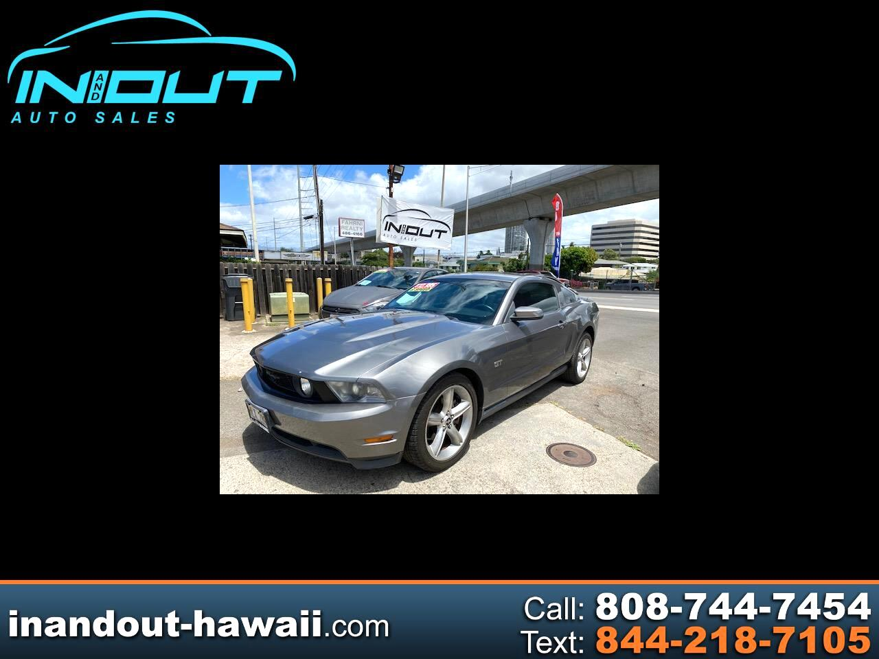 Ford Mustang 2dr Cpe GT 2010
