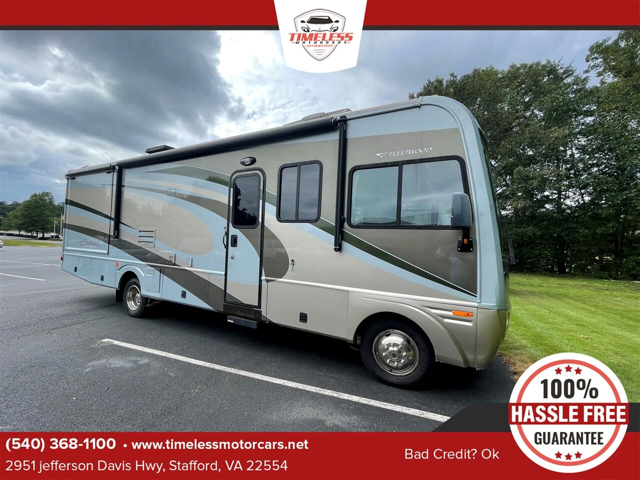 Ford Stripped Chassis Motorhome  2004