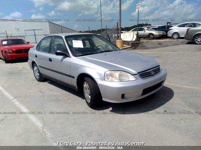 Honda Civic LX sedan 1999