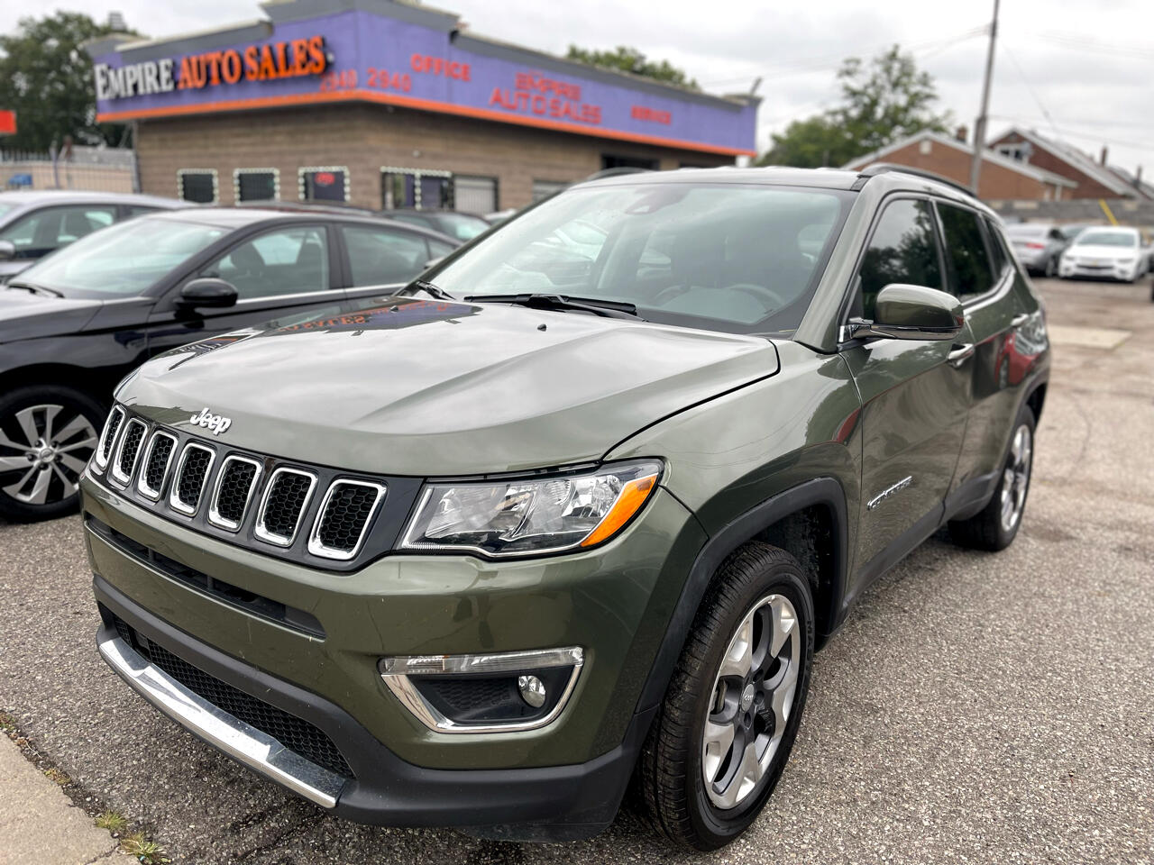 Jeep Compass Limited 4x4 2021