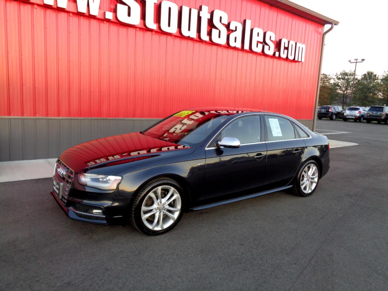 Audi S4 Sedan quattro S tronic 2014