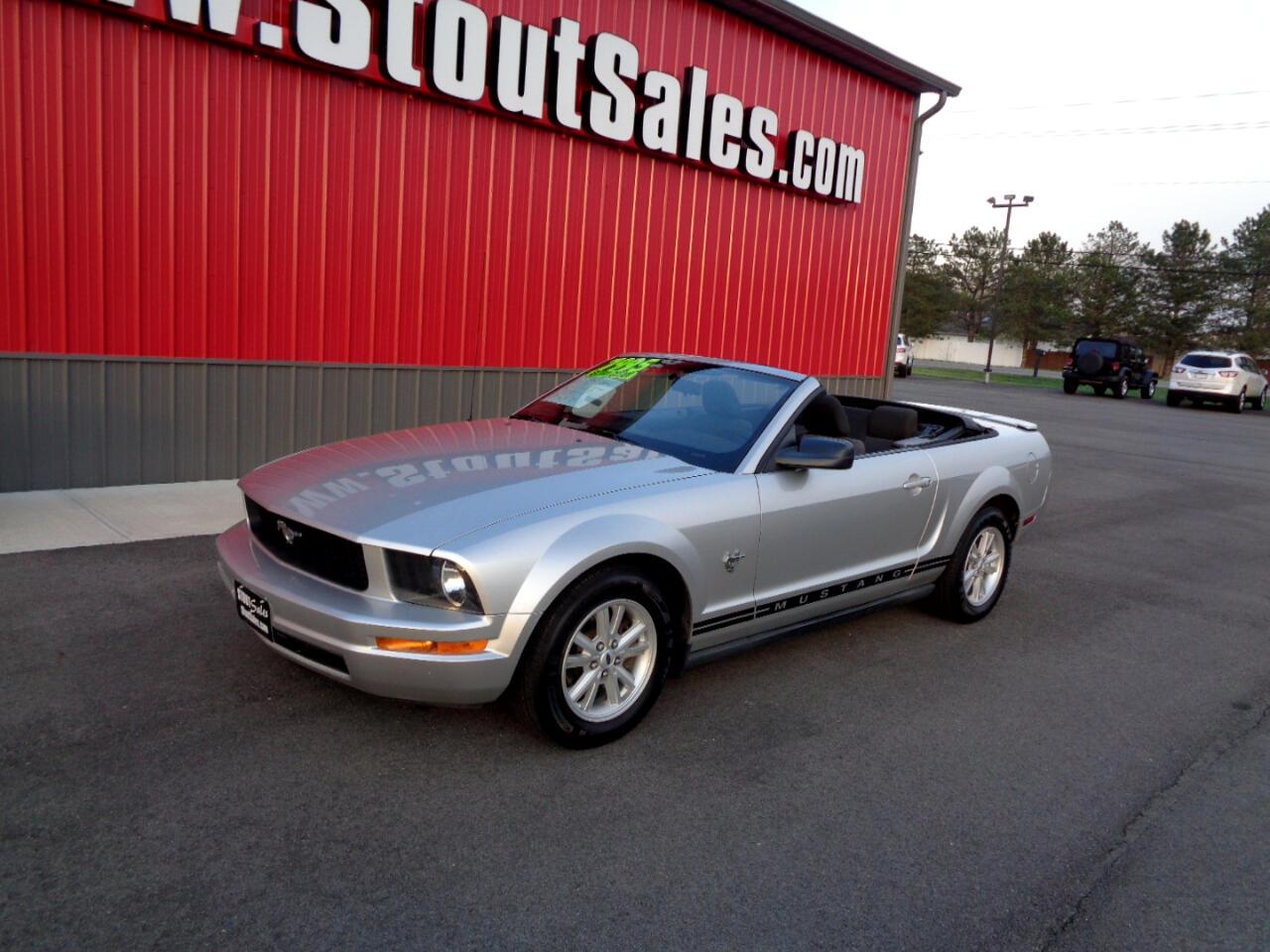 Ford Mustang V6 Convertible 2009
