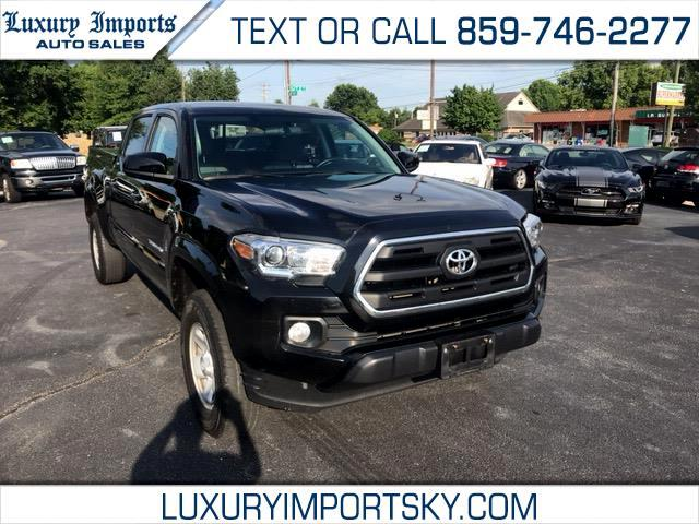 2016 Toyota Tacoma SR5 Double Cab Super Long Bed V6 5AT 4WD
