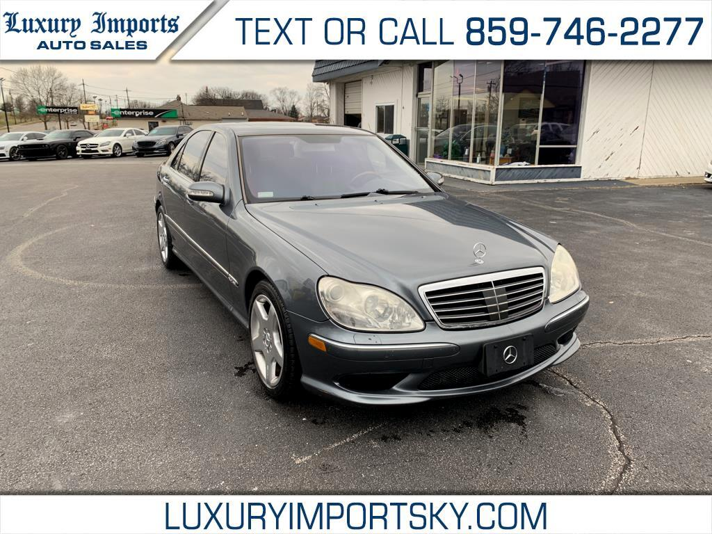 2005 Mercedes-Benz S-Class 4dr Sdn S 600 RWD