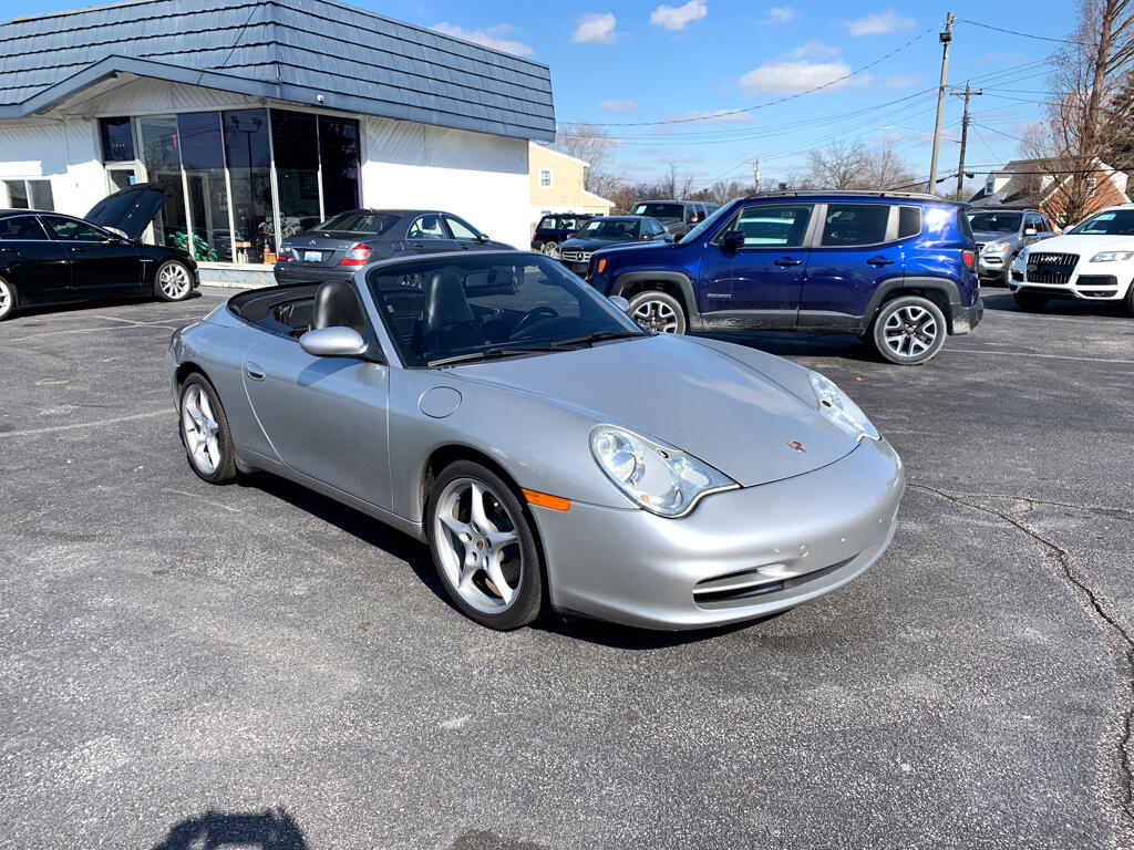 2004 Porsche 911 2dr Cabriolet Carrera Tiptronic