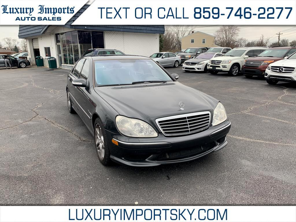 2003 Mercedes-Benz S-Class 4dr Sdn AMG
