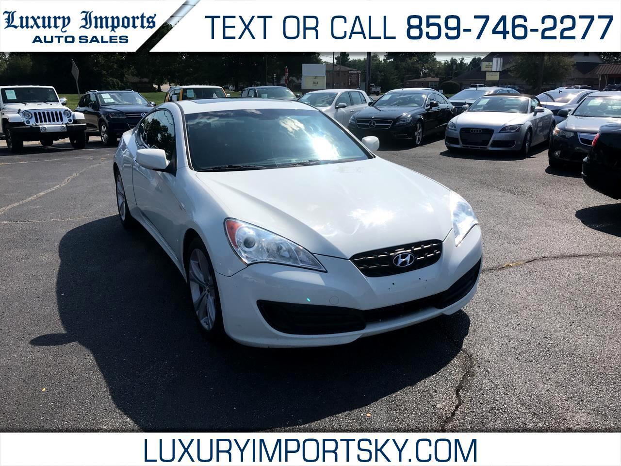 2012 Hyundai Genesis Coupe 2dr I4 2.0T Auto Premium