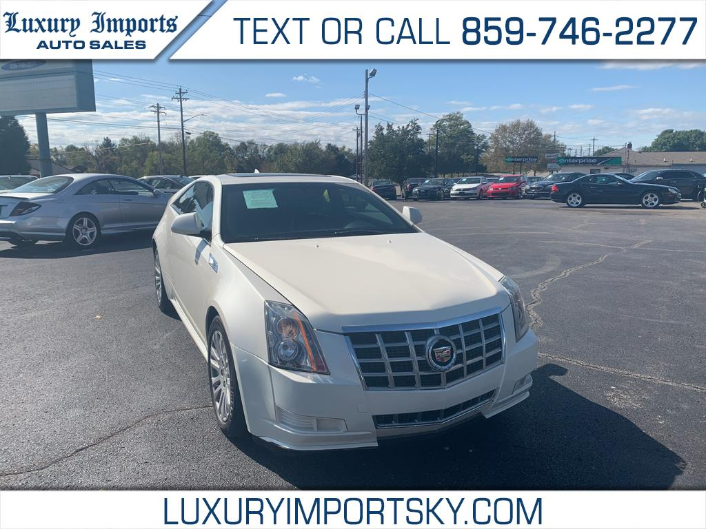 Cadillac CTS Coupe 2dr Cpe AWD 2013