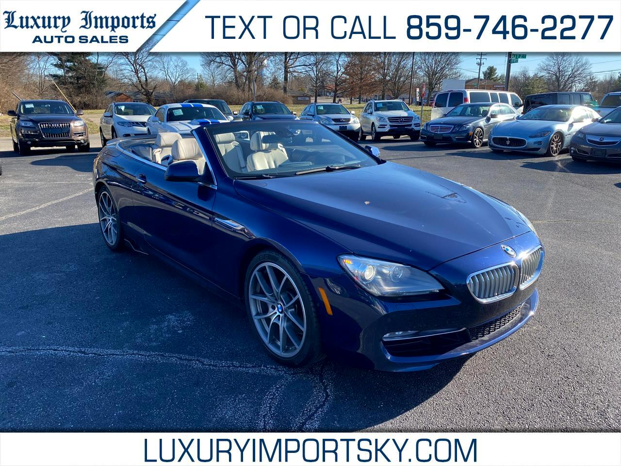 2012 BMW 6 Series 2dr Conv 650i