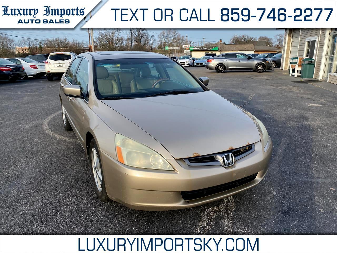 Honda Accord EX sedan 2004