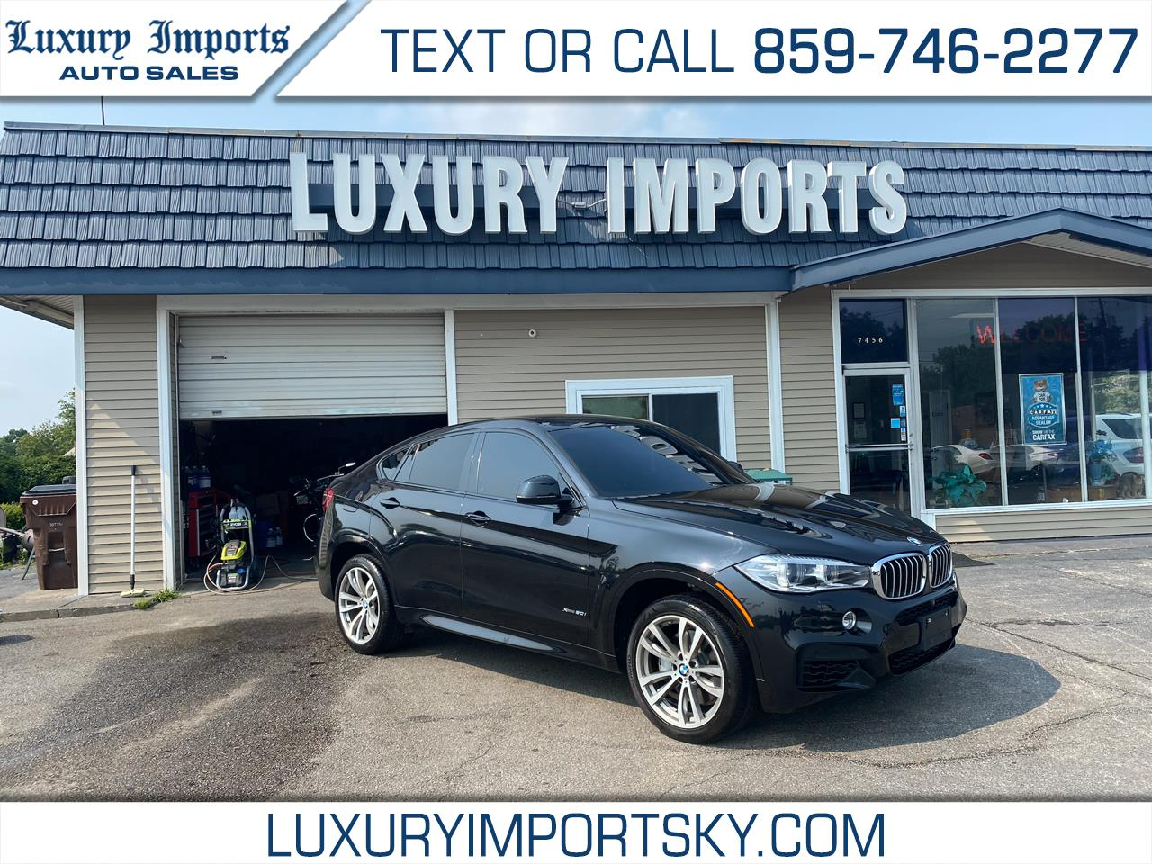 BMW X6 xDrive50i Sports Activity Coupe 2017