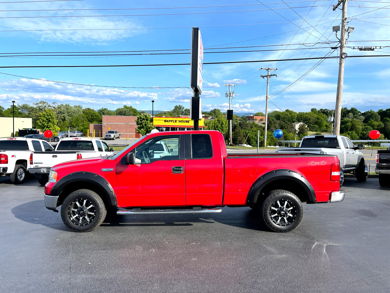 """Ford F-150 4WD SuperCab 133"""" Lariat 2007"""