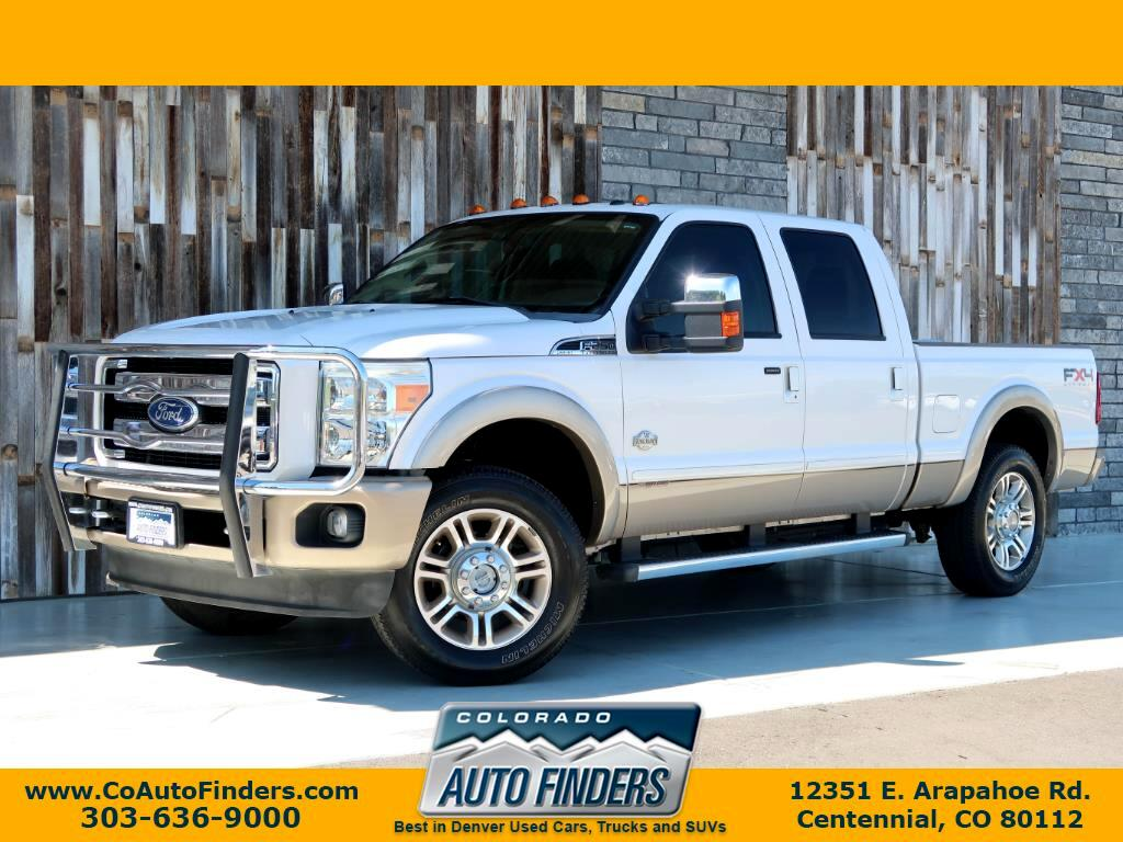 "2011 Ford Super Duty F-250 SRW 4WD Crew Cab 156"" King Ranch"