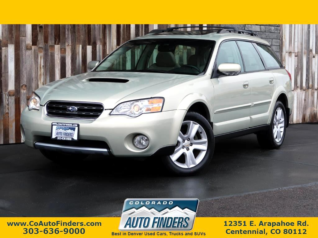 used 2006 subaru legacy wagon outback 2 5 xt auto for sale in denver co 80231 colorado auto finders. Black Bedroom Furniture Sets. Home Design Ideas