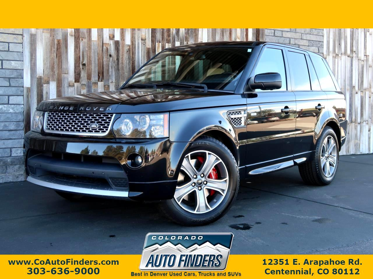 2013 Land Rover Range Rover Sport 4WD 4dr SC Autobiography