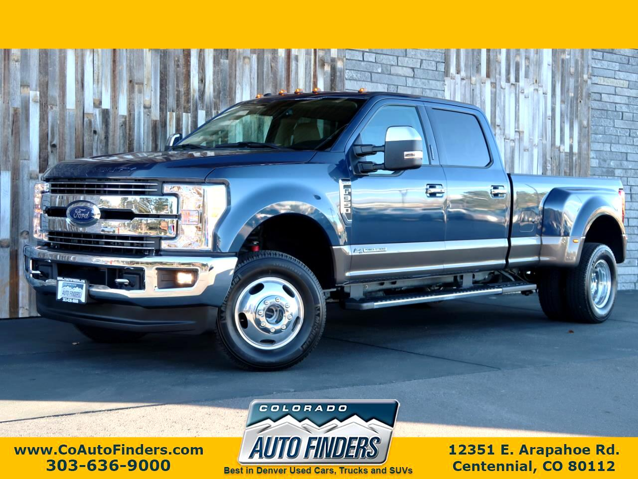 2017 Ford Super Duty F-350 DRW Lariat 4WD Crew Cab 8' Box