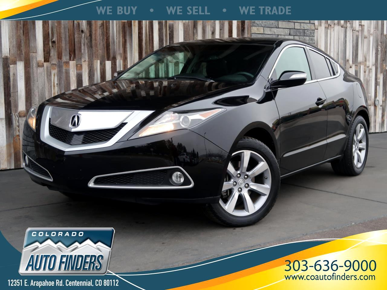 Acura ZDX AWD 4dr Advance Pkg 2010