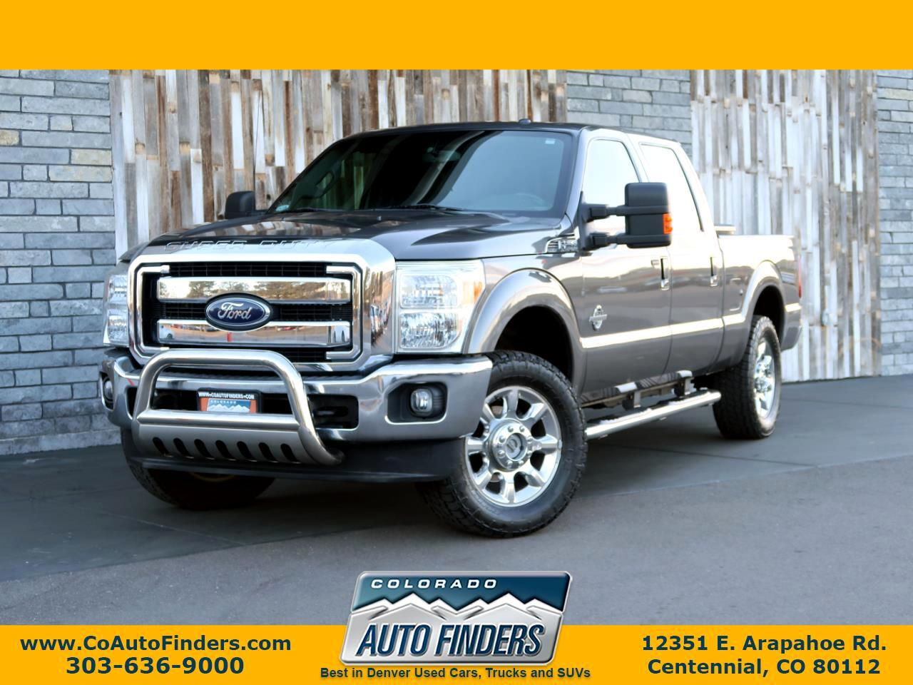 2012 Ford Super Duty F-250 SRW Lariat 4WD SuperCab 6.75' Box