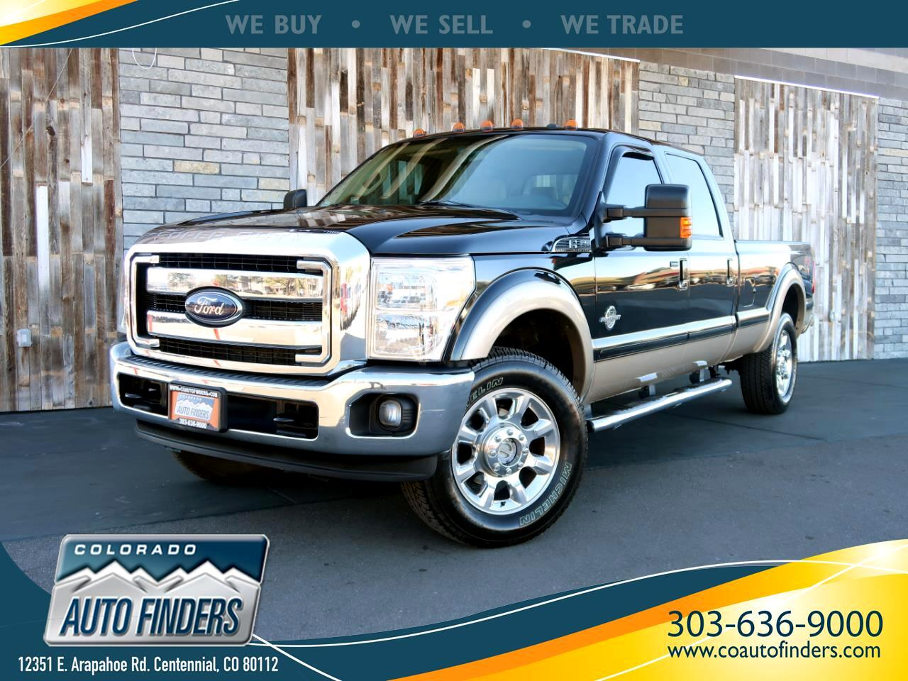"2012 Ford Super Duty F-350 SRW 4WD SuperCab 158"" FX4"