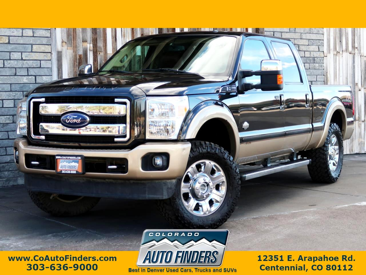 2014 Ford Super Duty F-250 SRW King Ranch 4WD Crew Cab 6.75' Box