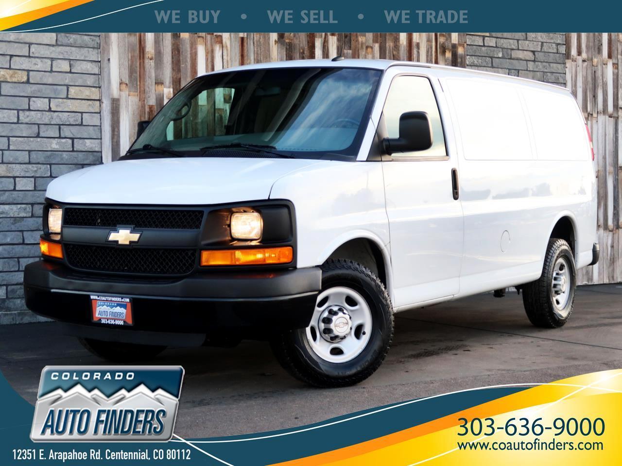 """2014 Chevrolet Express Cargo Van RWD 2500 135"""""""
