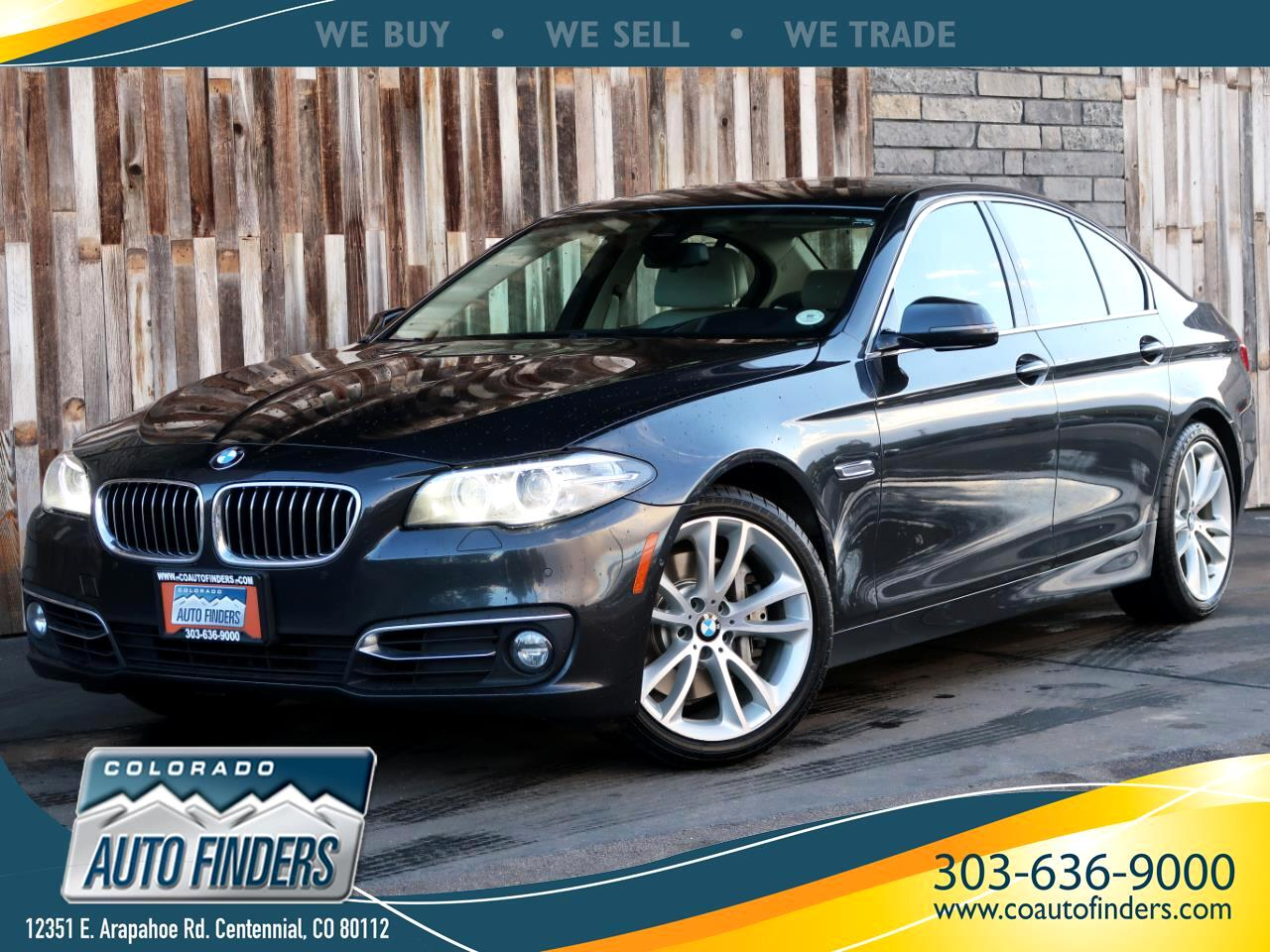 2015 BMW 5 Series 4dr Sdn 535i xDrive AWD