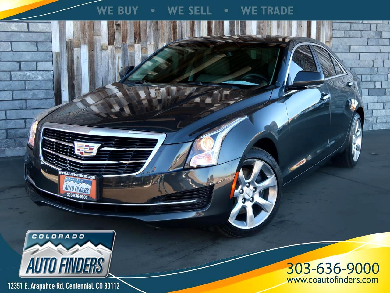 2015 Cadillac ATS Sedan 4dr Sdn 2.0L Luxury AWD